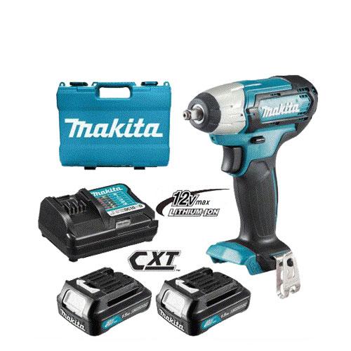 12V Máy siết bu lông dùng pin Makita TW060DSYE (6.35MM)