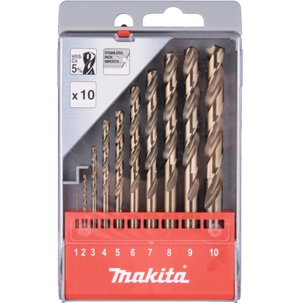 Bộ mũi khoan (10 chi tiết) Makita D-57174