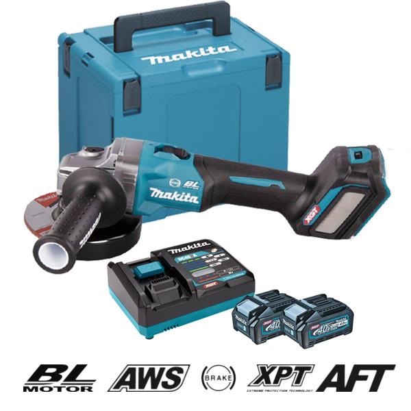 Máy mài góc dùng pin 40V XGT Makita GA023GM201