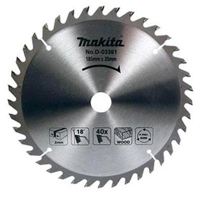 Lưỡi cắt gỗ 40 răng Makita P-67957 185 x 20 x 40T