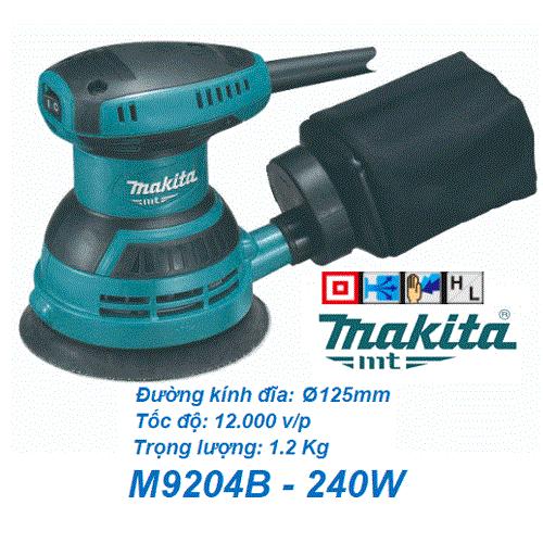 Máy chà nhám rung tròn Makita M9204B ( 240W )