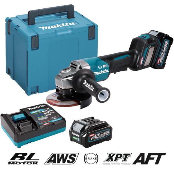 Máy mài góc dùng pin 40V XGT Makita GA029GM201