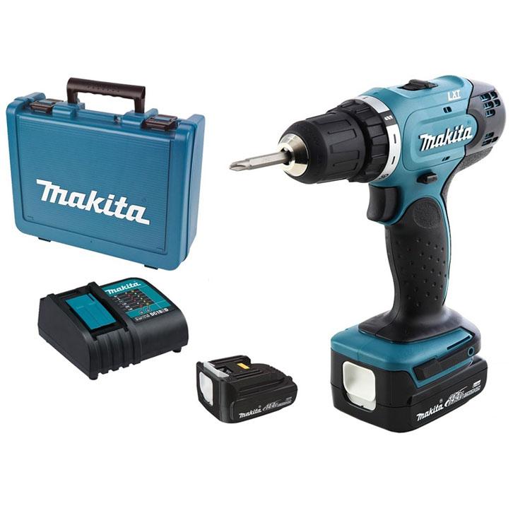 Máy khoan và vặn vít dùng pin Makita DDF343SYE 14,4V