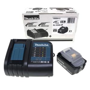 Bộ pin sạc Makpac (BL1830B + DC18SD) Makita 199994-5
