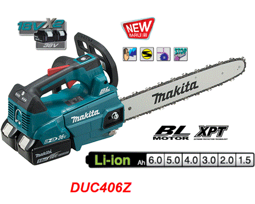 Máy cưa xích dùng 2 pin 18V Makita DUC406Z