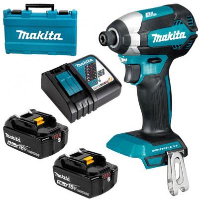 Máy vặn vít dùng pin Makita DTD153RTE (18V)
