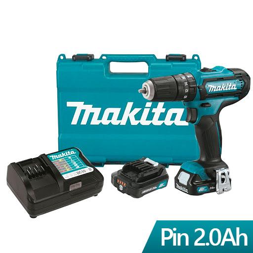Máy khoan búa,vặn vít dùng pin Makita HP333DSAE